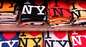 I love NY T-shirts royalty free stock image