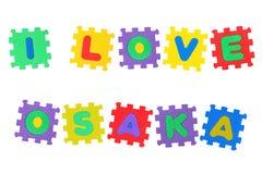 I Love Osaka Stock Image