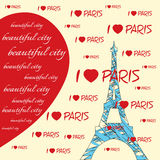 I love paris Royalty Free Stock Photo