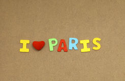 I love paris Stock Images