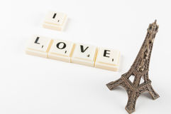 I love Paris Stock Photo