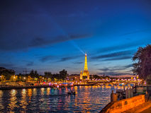 I love Paris. Only one place i want to go every time Stock Photography