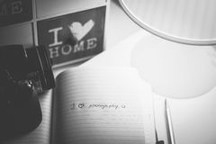 I love photography, stock for photo sites Royalty Free Stock Images