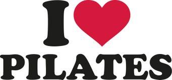 I love pilates Royalty Free Stock Image
