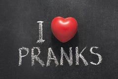 Free I Love Pranks Royalty Free Stock Photos - 97100978
