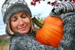 I love pumpkins Royalty Free Stock Image