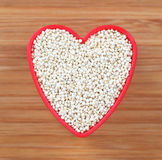 I love Quinoa Royalty Free Stock Image