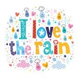 I love the rain Stock Photography