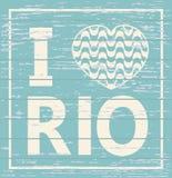 I love Rio de Janeiro Royalty Free Stock Photography