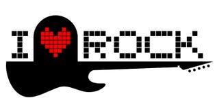 I love rock Royalty Free Stock Image