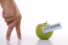 I love school Stock Images