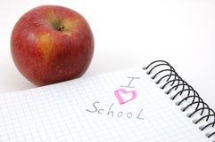 I love school Royalty Free Stock Image