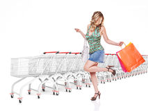 I love shopping Stock Photo