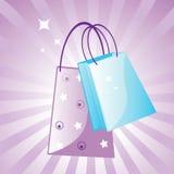 I love shopping Stock Image