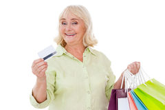 I love shopping! Stock Images