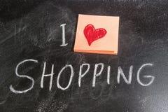I Love Shopping Stock Photos