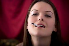 I love smoking Stock Photo