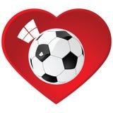 I love soccer Royalty Free Stock Photo