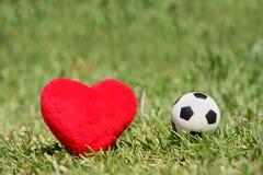 I love soccer royalty free stock photos