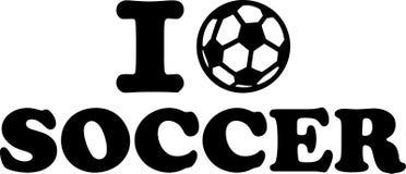 I love Soccer Royalty Free Stock Photography
