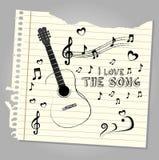 I love the song Stock Photos
