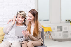 I love this song! Royalty Free Stock Image
