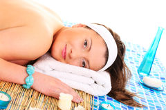 I love spa! Royalty Free Stock Images