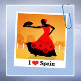I love Spain Stock Image