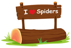 I love spider Royalty Free Stock Photography