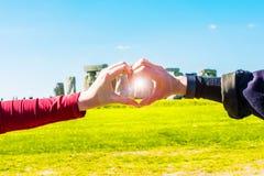 I love Stonehenge Stock Photo