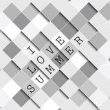 I love summer background illustration stock illustration