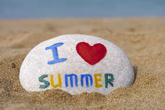 I love summer Royalty Free Stock Images