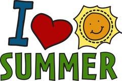 I Love Summer Royalty Free Stock Photos