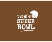 Best sport quotes, Inspiring sport Quotes, Motivational Quotes. I love superbowl. sport quote vector, american football Royalty Free Stock Image