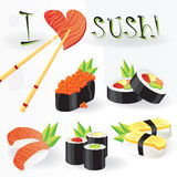I love sushi Royalty Free Stock Photos