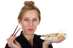 I love Sushi! Royalty Free Stock Image