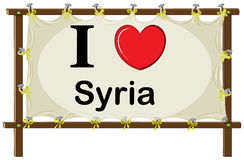 I love Syria Stock Images