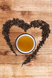 I Love Tea. Stock Images