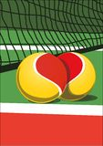 I love tennis Royalty Free Stock Images