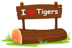 I love tigers Royalty Free Stock Photo