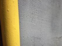 Yellow and grey in a nice combination. I love to watch the details of the normal things Stock Photos