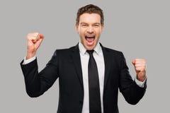 I love to win! Stock Photos