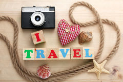 I love travel Royalty Free Stock Images