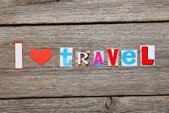 I love travel Stock Photography