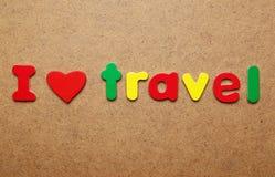 I love travel Royalty Free Stock Photo