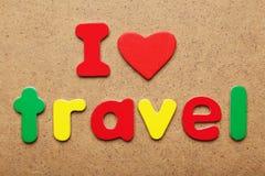 I love travel Stock Photos