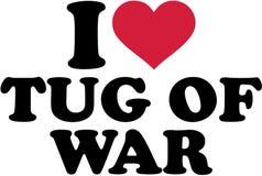 I love tug of war. Vector Royalty Free Stock Photos