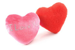 I love U hearts Stock Image
