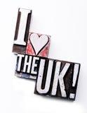 I Love The UK Royalty Free Stock Photos