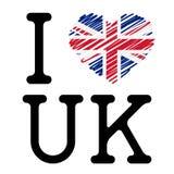 I LOVE UK Stock Image